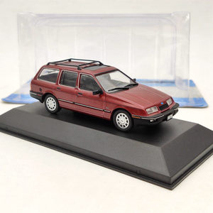 Image 2 - 1/43 IXO Ford Sierra Ghia Rural 1988 Red Diecast Toys Models Collection Car Gift