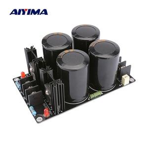 Image 1 - Выпрямительный фильтр AIYIMA Schottky, плата питания 63 в 10000 мкФ, выпрямительный выпрямитель А, плата питания для самостоятельной сборки динамика