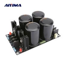 AIYIMA Schottky Doğrultucu Filtre elektrik panosu 63V 10000UF Kondansatör Amplifikatör Doğrultucu 120A Güç Kaynağı Kurulu DIY Hoparlör Amp