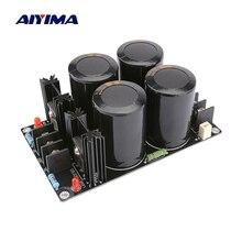 Aiyima 쇼트 키 정류기 필터 전원 보드 63 v 10000 미크로포맷 커패시터 증폭기 정류기 120a 전원 공급 장치 보드 diy 스피커 앰프
