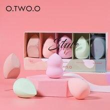 Otw oo 5 шт набор губок для макияжа Профессиональный косметический