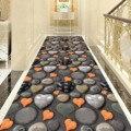 Романтичный ковёр в форме сердца  входная дверь  коврик для гостиной  прикроватный  балкон  фланелевый ковер для гостиной  3D коврик для корид...