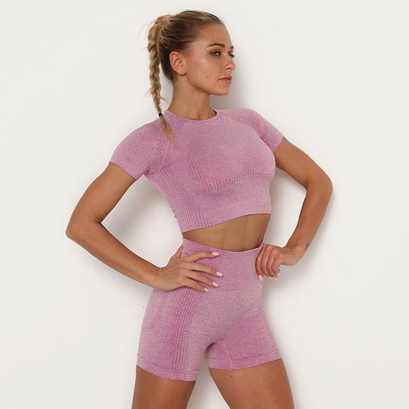 Ha0df33ade8944dc3a14212f6f2d1652cW Kaminsky 14 Colors High Waist Seamless Leggings For Women Solid Push Up Leggins Athletic Sweat Pants Sportswear Fitness Leggings
