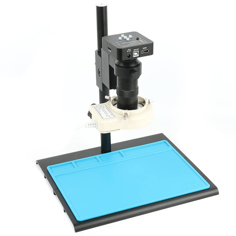 34MP 2K 1080P 60FPS HDMI USB Industrial Electronic Digital Video Microscope Camera 130X C Mount Lens for Phone PCB Repairing|Microscopes| |  - title=