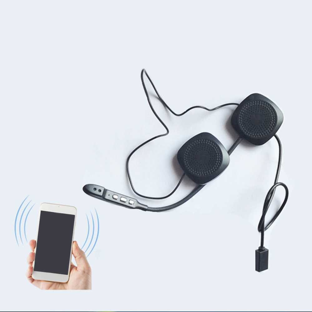 20m Waterproof Moto Bluetooth Wireless Anti-Interference Helmet Headset Hands Free Bluetooth V4.2 Intercom For Motorcycle