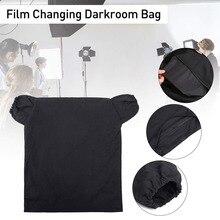 Светильник для фотосъемки, легко очищаемая пленка, меняющаяся на молнии, портативная развивающаяся Антибликовая двухслойная сумка для темной комнаты, Антистатическая