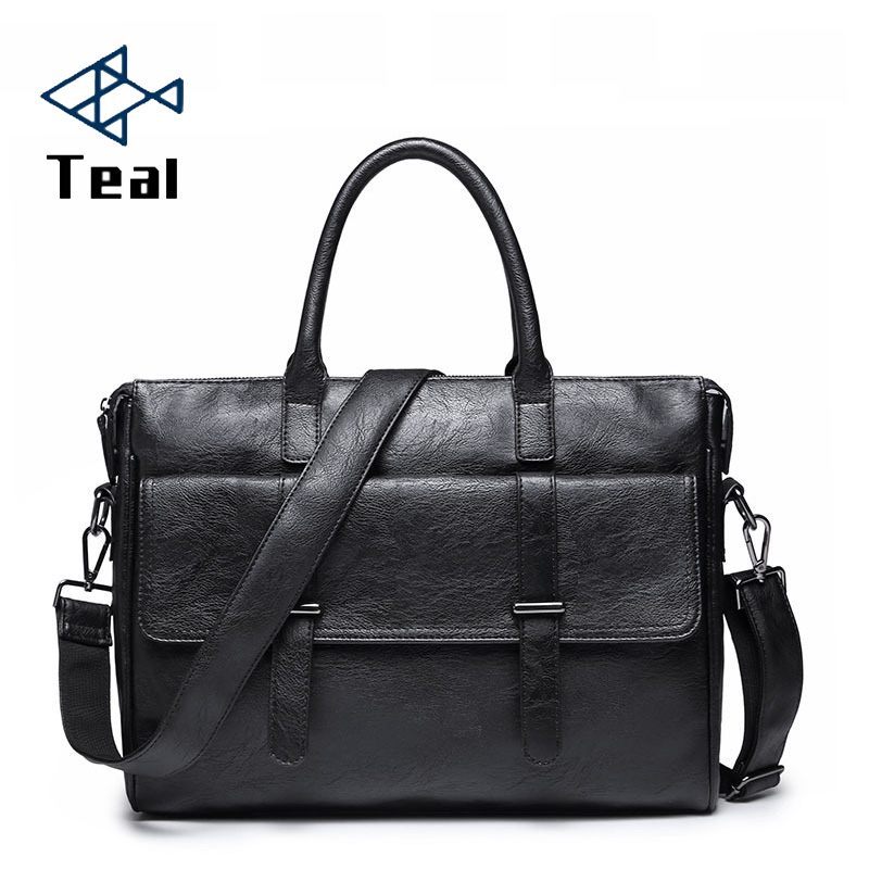 2020 New Fashion Men's Briefcase Shoulder Bags Vintage Travel Totes Bag Large Capacity Business HandBag Bags