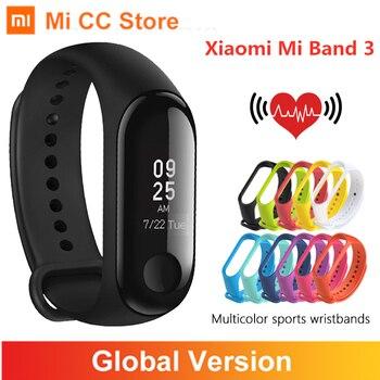 Xiaomi Mi Band 3 Global Version Fitness Tracker Wristband OLED Screen Heart Rate Monitor Bracelet Smart band 3