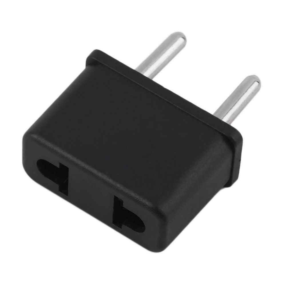 Universele Amerikaanse Om Eu Plug Usa Naar Europa 220V Reizen Witte Muur Ac Power Charger Outlet Adapter Converter 2 ronde Socket Pin