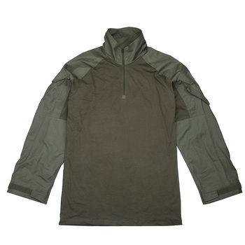 TMC 2020Ver Koszula bojowa G3 Ranger Green RG koszula wojskowa z długim rękawem NYCO(SKU051041) tanie i dobre opinie STINGER GEAR Long Sleeve Military Shirt TMC 2020Ver G3 Combat Shirt NYCO fabrics YKK zipper