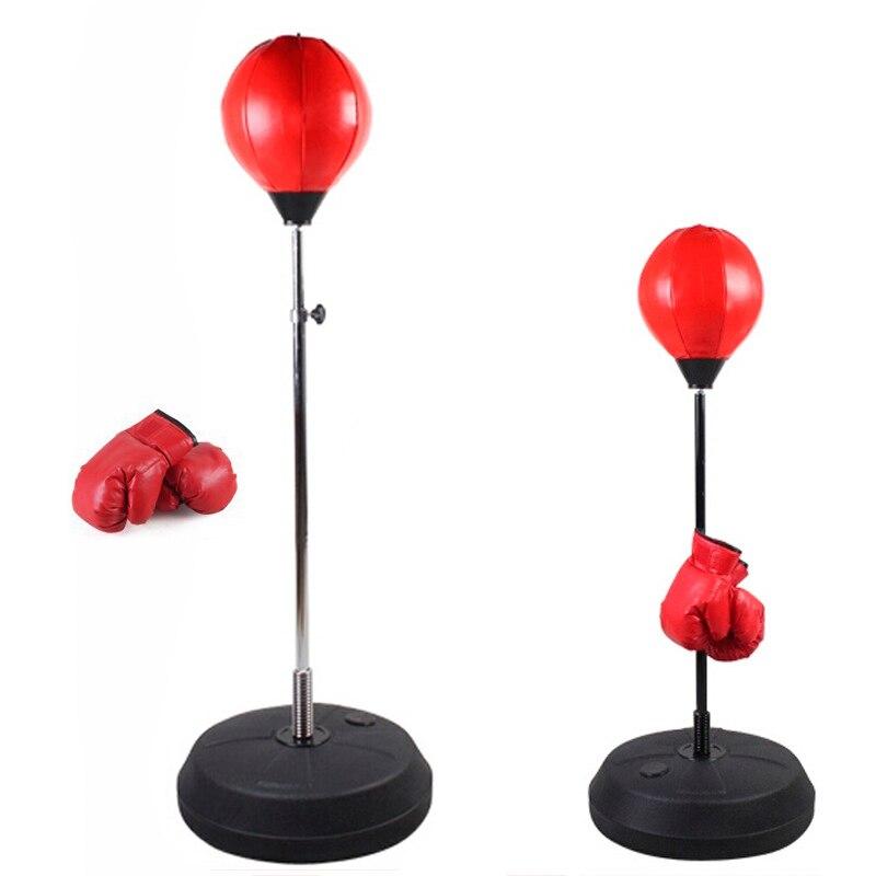 Fight Ball Reflex-Boxing Training Speed Punch Head String Ball Sucker Desktop
