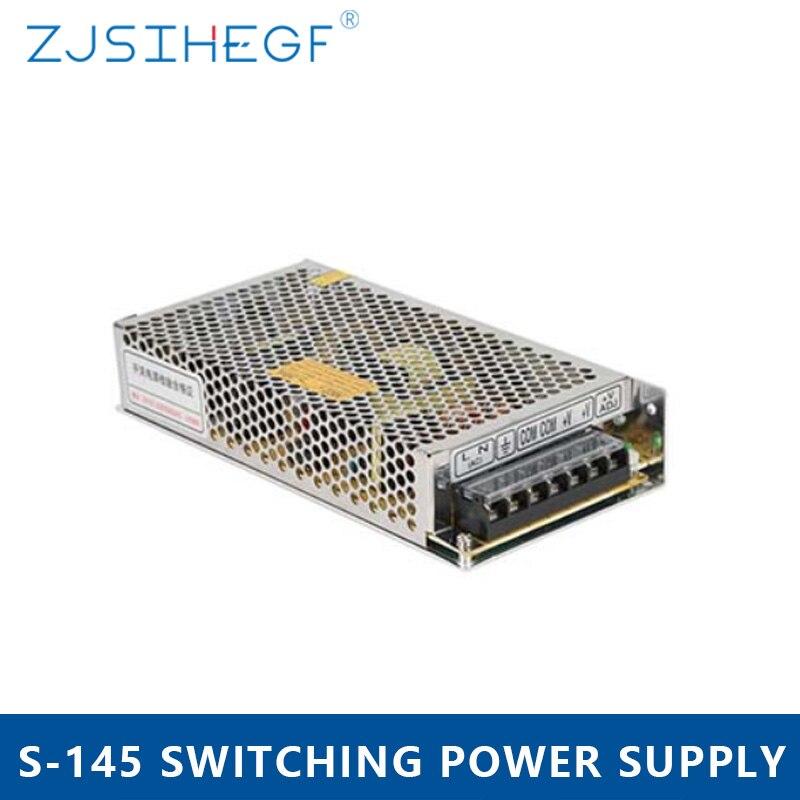 DC Voltage 110v 220v AC to 24V 6A DC Converter Circuit 24volt SMPS/PSU/LED Transformer 145w 24v Led Driver Power Supply