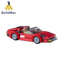 BuildMoc TECHNIC-bloques de construcción de automóviles de MagnumSuper Racers, juguete de bloques de construcción de automóviles, Motor, regalo para niños, F308 GTS