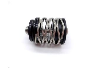 Wave Spring Bicycle Rear Shock For Brompton Folding Bike Suspension 304 Stainless Steel Spring Titanium Bolt