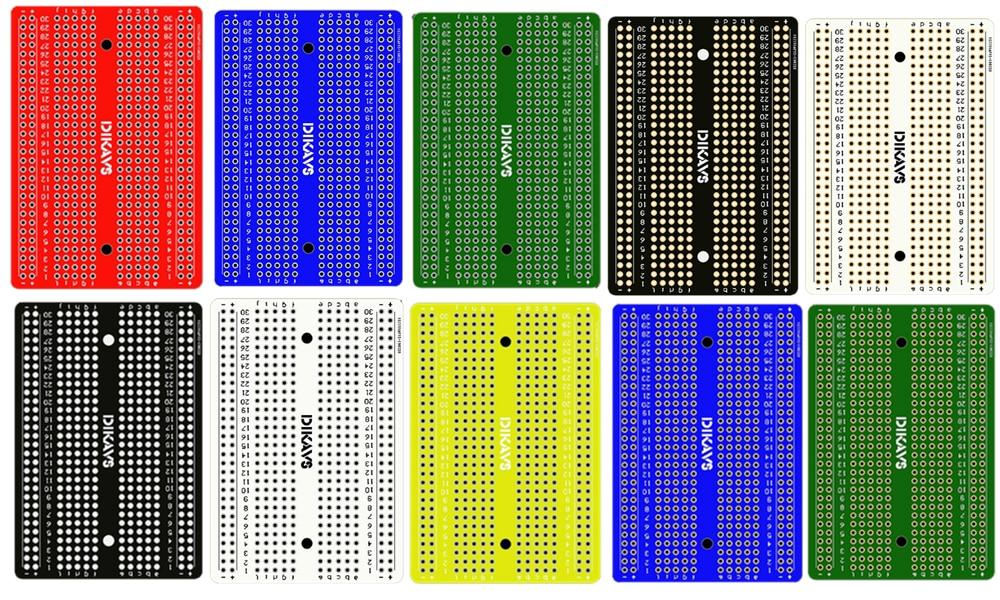 Welding Breadboard Pcb Board Prototype Board Protoboard Diy Prototype Electronics for Arduino(China)