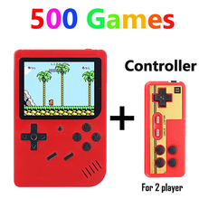 Coolbaby RS 6 ย้อนยุคแบบพกพา Mini Handheld เกมคอนโซล 8 Bit 3.0 นิ้ว LCD สีเด็กสีเกม built in 168/500 เกม