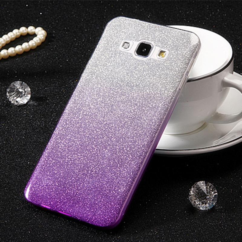 Luxury Glitter Bling Case For Samsung Galaxy J5 2016 J510 J510F J510FN J5 2017 J530 J530F Soft Silicon Cover Capa fundas image