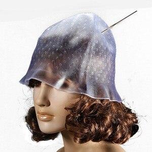 Image 2 - Riutilizzabile Professionale Salon Hair Color Colorazione Evidenziazione Dye Cap per Extensions Strumenti Per Lo Styling Barbiere Salone di Bellezza Dei Capelli