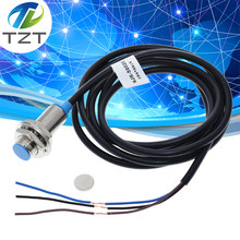 Tzt NJK-5002C sensor de efeito hall interruptor de proximidade npn 3-fios normalmente abertos + magne