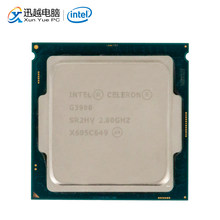 Intel Celeron G3900 Desktop Processor G 3900 Dual-Core 2.8GHz 2MB Cache LGA 1151 Gebruikt CPU(China)
