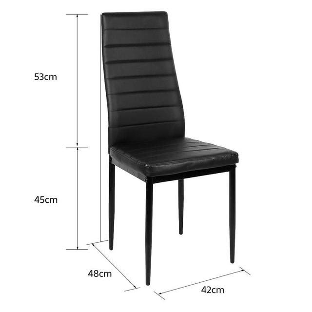 6PCS  Leather Dining Chairs  6