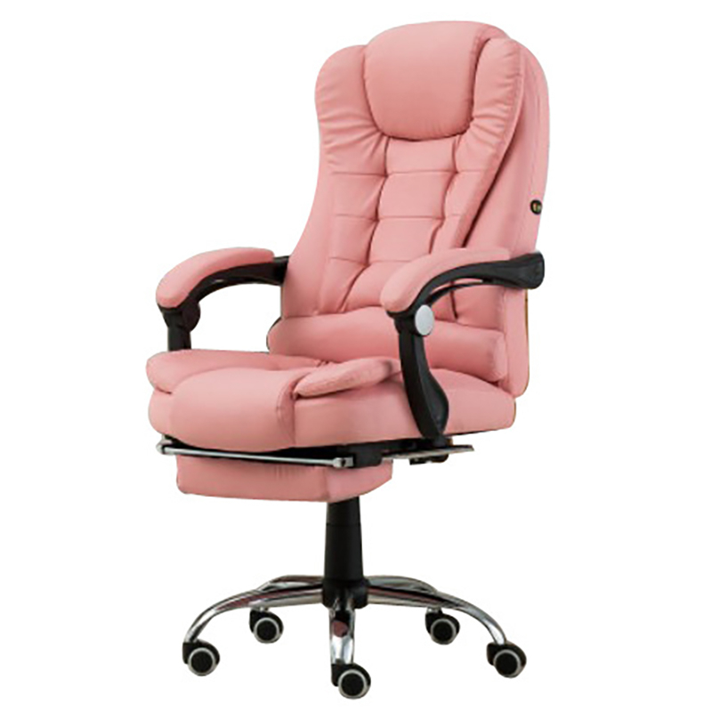 Computer Household Work Lie Boss Ergonomic Chair Lift Swivel Massage Footrest Gaming Luxury Synthetic Leather Office Furniture