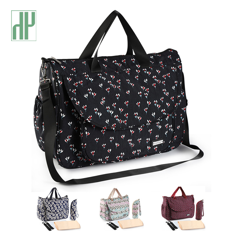 New Print Baby Bag For Stroller Waterproof Diaper Bag For Mom Large Capacity Mommy Nursing Bags Baby Care Maternity Bag