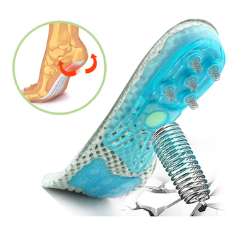 Silicone orthopedic shoes sole Insoles EVA Spring orthotic insoles flat feet  arch support inserts Plantar Fasciitis,foot care