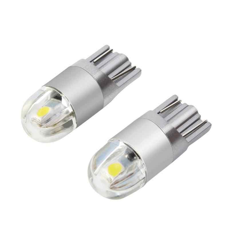 1 PC T10 LED Lampu Putih 168 501 W5W Lampu LED T10 Baji 3030 2SMD Interior Lampu 12V 6000K Parkir Lampu Lampu