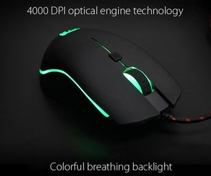 Image 5 - Motospeed V40 Professional Gaming Mouse USB Wired USB Optical Mouse Gamer 3500DPI Ergonomic Mice RGB LED Backlight for PC Laptop