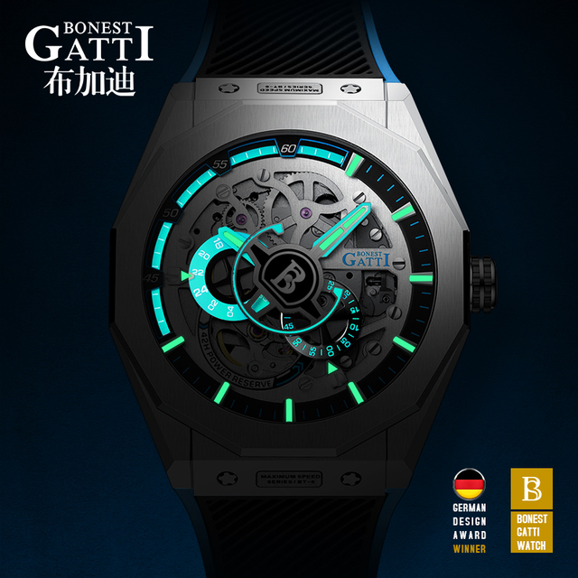 Relogio Masculino Mens Watches Top Brand Luxury Automatic Mechanical Watch Business Waterproof Sport Watch