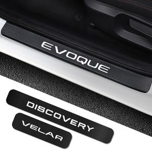 4 pezzi per Land Rover Discovery 3 4 2 Freelander 2 1 Evoque Velar adesivi per davanzale della portiera dell'auto accessori per Tuning auto(China)
