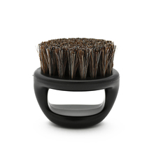 1 Pcs Ring Design Horse Bristle Men Shaving Brush Plastic Portable Barber Beard Brushes Salon Face Cleaning Razor Brush Y 87