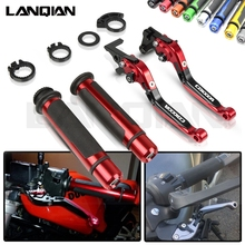 For Honda CB1000R Motorcycle CNC Brake Clutch Lever & 7/8 22MM Handlebar Grips 2008-2019 2015 2016 2017 2018 Accessories
