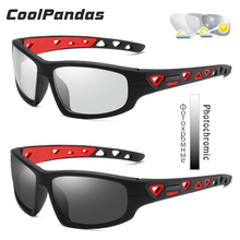 Sport Photochrome Polarisierte Sonnenbrille Männer Im Freien Fahren Angeln Sonnenbrille für Tag Nachtsicht gläser gafas de sol hombre