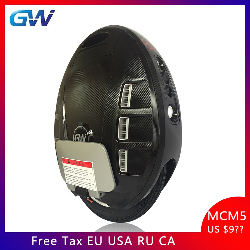 Gotway MCM5 Electric unicycle scooter, single wheel Electric unicycle motor 1500W battery 650WH,Hidden handle bar 45km/h