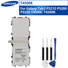 Original Replacement Tablet Battery T4500E For Samsung GALAXY Tab3 P5210 P5200 P5220 T4500C T4500K Rechargeable Battery 6800mAh original samsung t4500e tablet battery for samsung galaxy tab3 p5210 p5200 p5220 6800mah