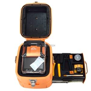 Image 5 - Многоязычная Автоматическая 6 моторная интеллектуальная FTTH машина для сращивания оптического волокна, Сращивание сращивания