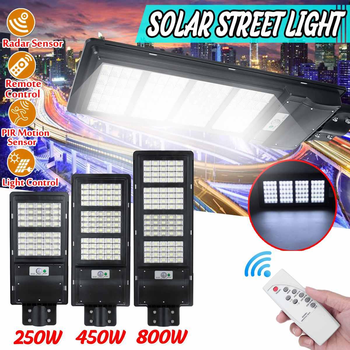 Polycrystalline Solar Led Street Light Tahan Air Ip65 Peta Lampu Taman Lampu Outdoor Radar Motion Sensor Light Led Dengan Rc Lampu Jalan Aliexpress