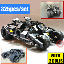 цены на Super heroes Batman Tumbler bat-pot fit Batman DC Batmobile figures Joker Model technic Building Block Bricks boy kit gift set  в интернет-магазинах