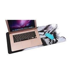 Fffas 70x30cm grande mouse pad velocidade gamer gaming playmat comer frango mousepad américa eua espanha moda notebook tapete xl