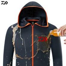 Рубашка Daiwa дышащая одежда для рыбалки Мужская водонепроницаемая рыболовная рубашка с длинным рукавом рыболовная куртка быстросохнущая одежда для рыбалки