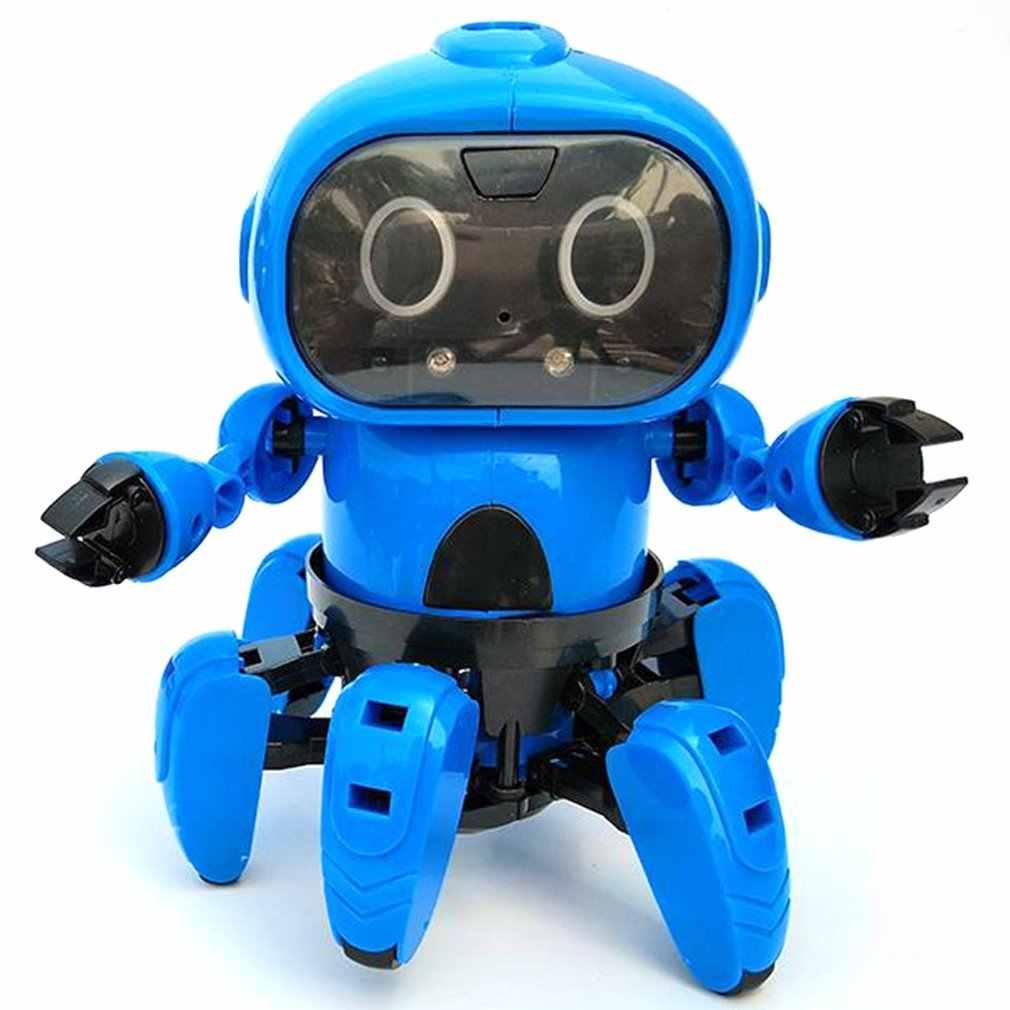 963 di Induzione Intelligente A Distanza RC Modello di Robot Giocattolo con I Seguenti Gesto Sensore di Evitamento Ostacolo per I Bambini Regalo Del Bambino Presente
