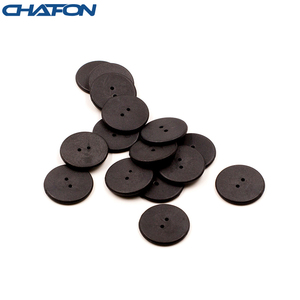Image 4 - 100pcs High temperature resistant uhf rfid PPS laundry tag small with Alien H3 chip used for laundry management