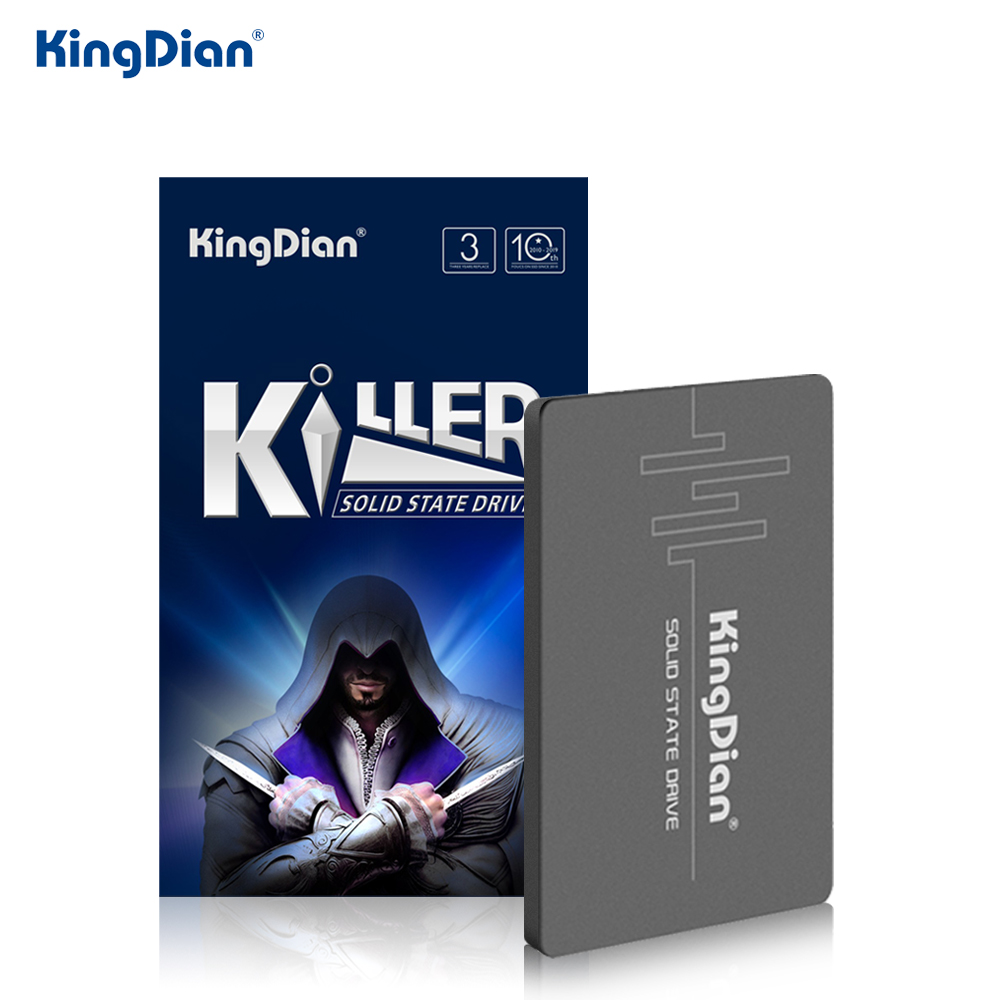 KingDian SSD 1TB HDD 2.5 120gb SSD 2TB 240 Gb 480gb SATA III 3 Internal Solid State Drive SSD Hard Drive 60GB For Laptop PC