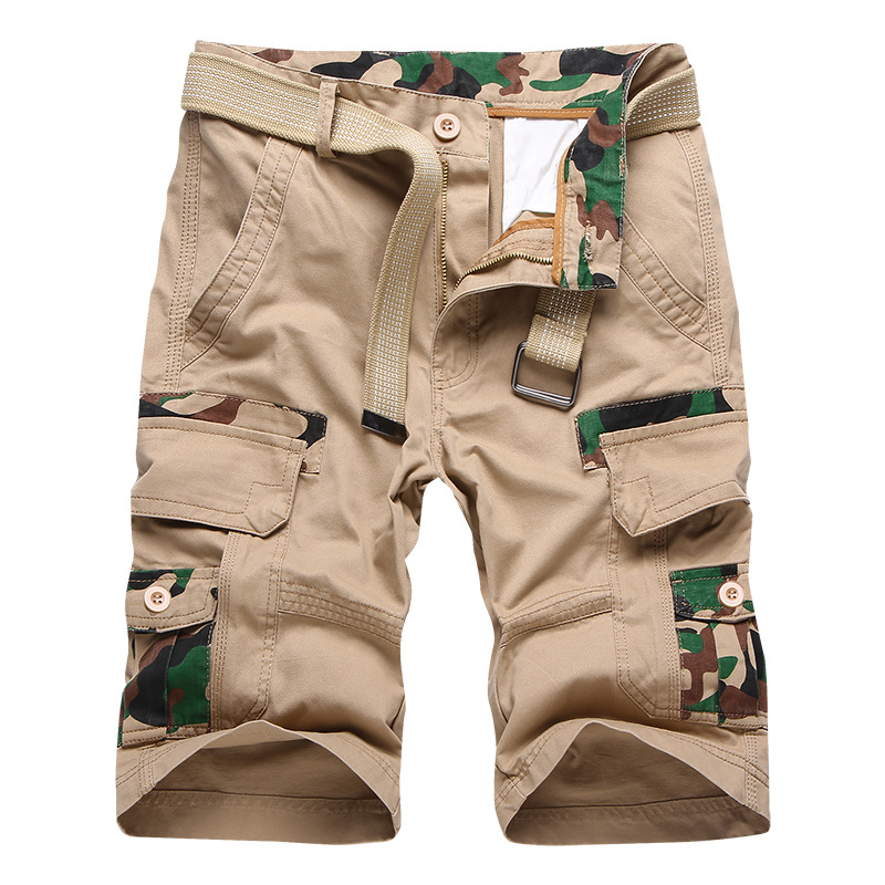 Cargo Shorts Men Loose Camouflage High Quality Cotton Casual Men Short Pants Brand Clothing Comfortable Camo Men Cargo Shorts