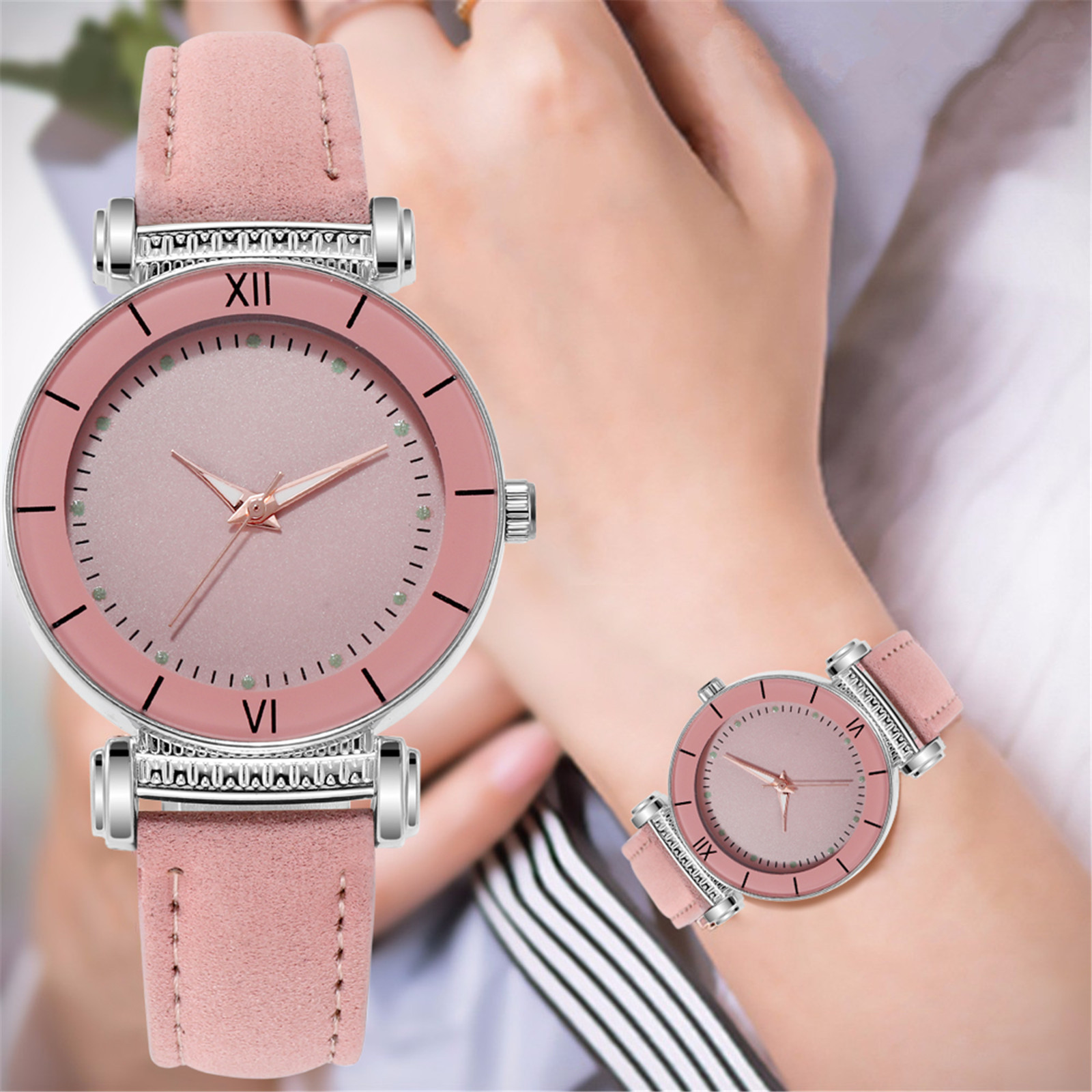 Luxury Watches Quartz Watches Stainless Steel Dial Casual Bracele Watch High-end Bracelet For Women'