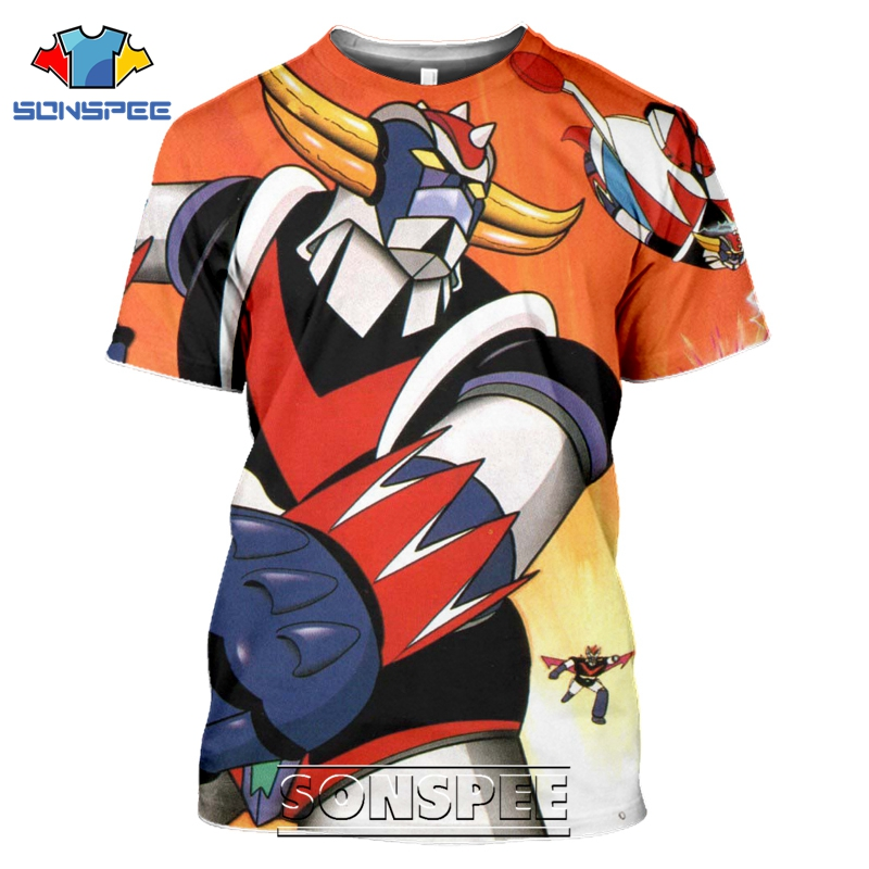 Ha0e517a4ca7249f5a6c050433ac669cdT - Goldorak T Shirt SONSPEE 3D Print men women