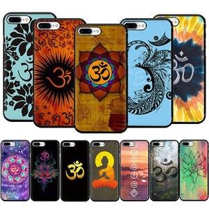 EWAU Aum Om Yoga Special Soft TPU Phone Case for iPhone 12 Mini SE 2020 11 Pro 5 5s 6 6s 7 8 Plus X XR XS MAX