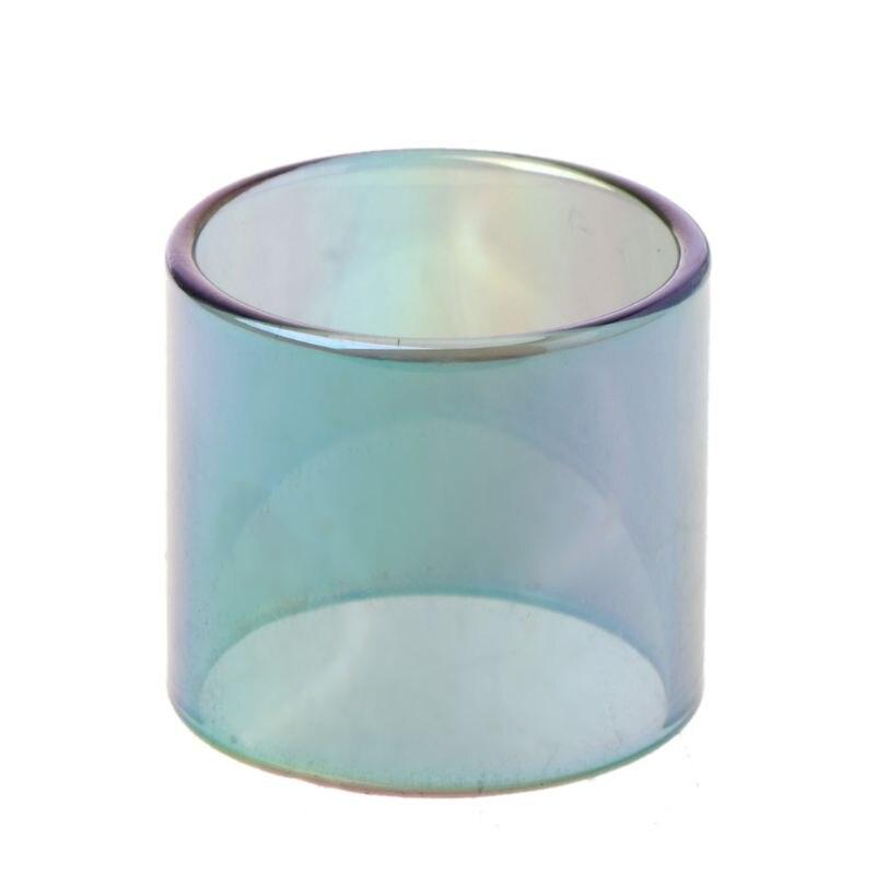 Rainbow Glass Tube For TFV8 BIG BABY RBA/TFV12/Stick V8 X8 Kit Vape Pen Plus Kit